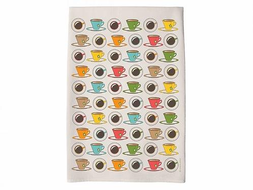 Coast & Cotton CUP OF TEA tea towel