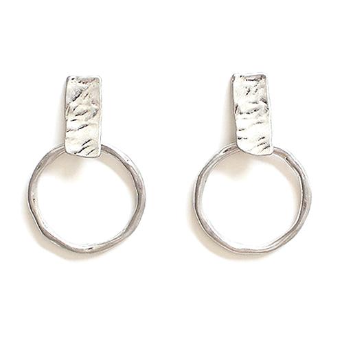 Meghan Browne Yale Silver Earring