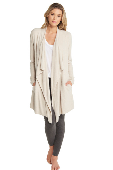 Barefoot Dreams Cozy Chic Island Wrap in Bisque