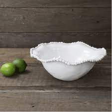 Beatriz Ball Alegria Melamine White Lg Bowl