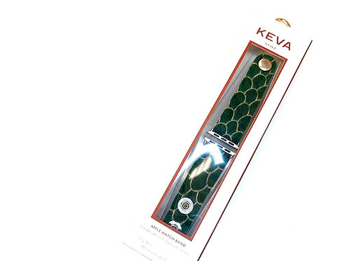 copy of KEVA Scalloped in Teal Watch Band