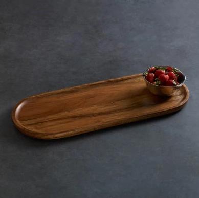 Beatriz Ball Wood Cutting Board with Soho Fruit Bowl
