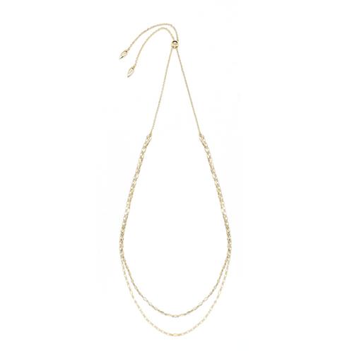 Natalie Wood Designs - Blossom Adjustable Necklace GOLD