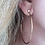 Thumbnail: Sheila Fajl Briana Hoops in Brushed Silver