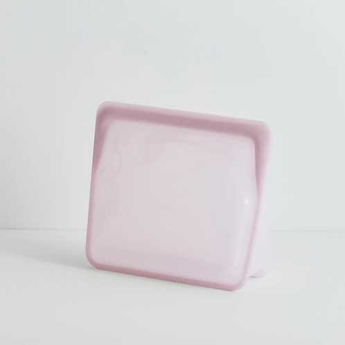 stasher - Stand Up MID Bag in ROSE