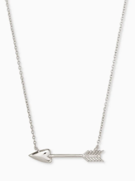 KENDRA SCOTT Zoey Pendant Necklace In Silver