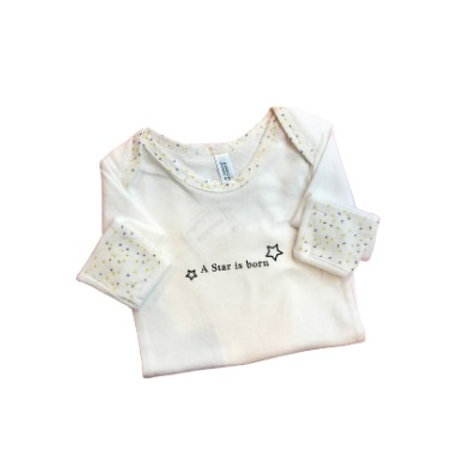 "Empress Arts Onesie ""A Star is born"""