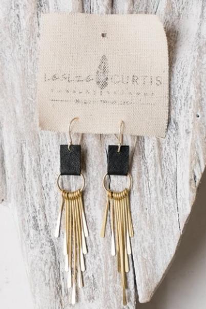 Leslie Curtis - Coco Earrings in Black
