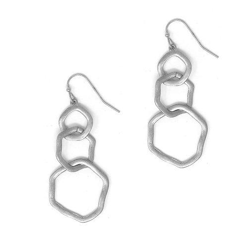 Meghan Browne Omega Silver Earring