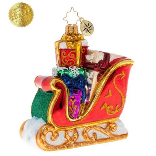 Radko Surprises On The Way Ornament