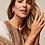 Thumbnail: Kendra Scott Jack Gold Hoop Earrings In Turquoise Crystal