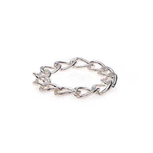 Kenda Kist SILVER Chain Ring
