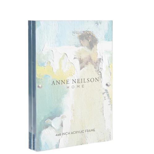 Anne Neilson Home 4x6 Acrylic Frame