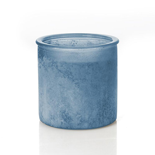 ELEVEN POINT  Almond Bark CANICHE River Rock Candle