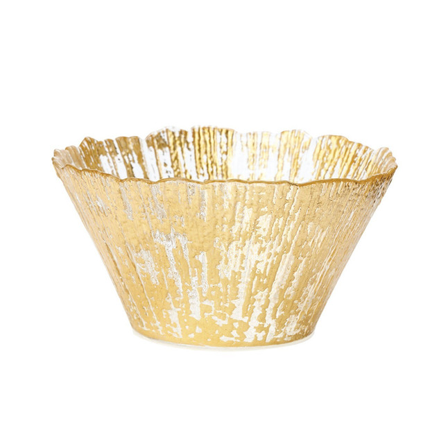 Vietri Ruffle Glass Bowl