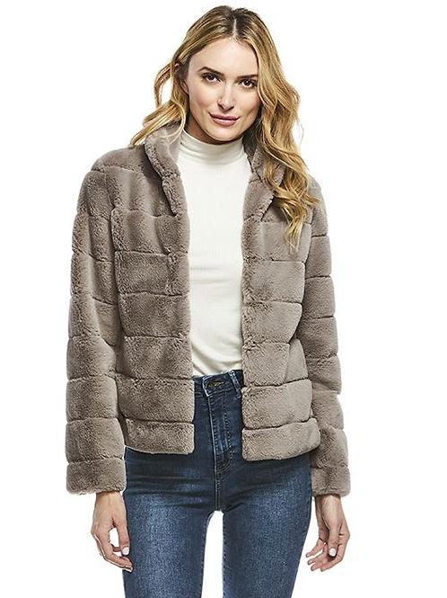 Donna Slayers Fabulous Furs- PERFECT LITTLE FAUX FUR JACKET