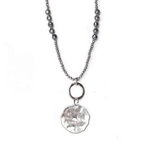 Meghan Browne COBIE Necklace in Silver