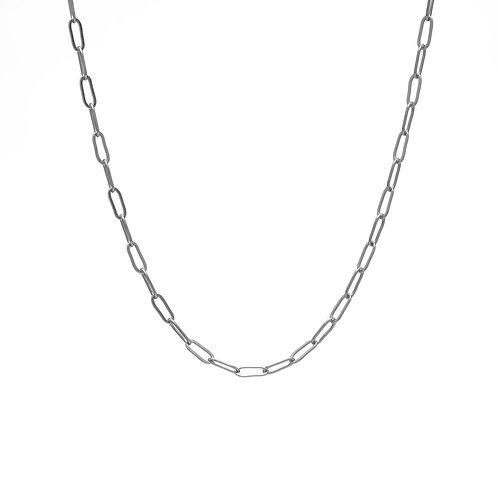Kenda Kist SILVER Paper Clip Chain Layer