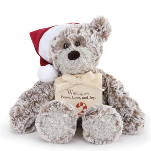 """Mini Giving Bear 8.5"""" - Christmas"""