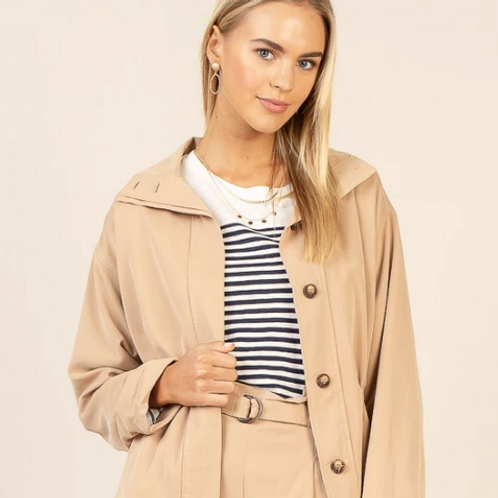 SKIES ARE BLUE CLASSIC UTILITY JACKET