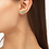 Thumbnail: Ivy Gold Ear Climber Earrings In Sea Green Mix
