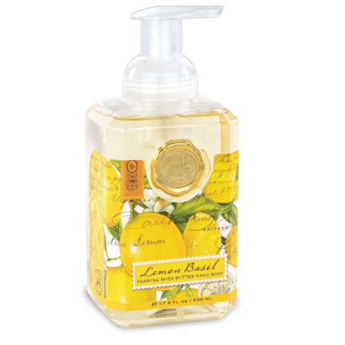 MICHEL DESIGN Lemon Basil Foaming Hand Soap