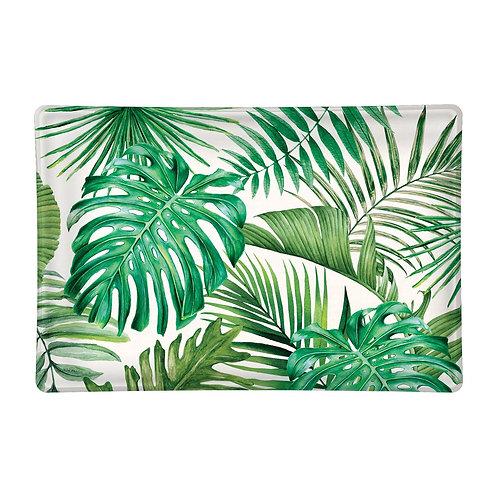 MICHEL DESIGN - Palm Breeze Glass Soap Dish
