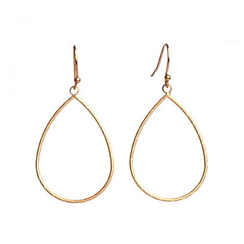 Meghan Browne Teal Gold Earring