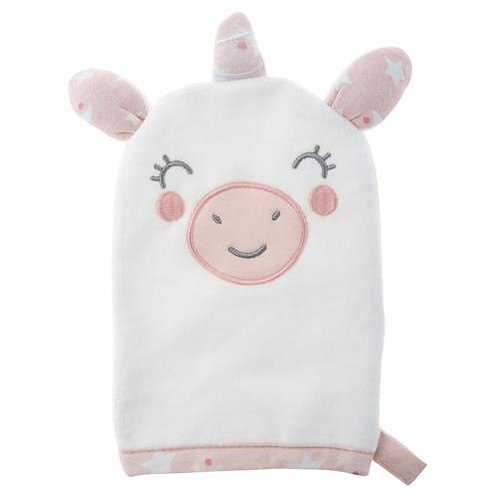 SJ Baby Bath Mitt -UNICORN