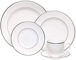 Lenox Continental Dining Platinum 5 Piece Place Setting