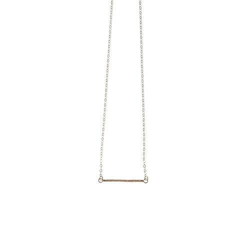Kenda Kist GOLD Tiny Bar Necklace