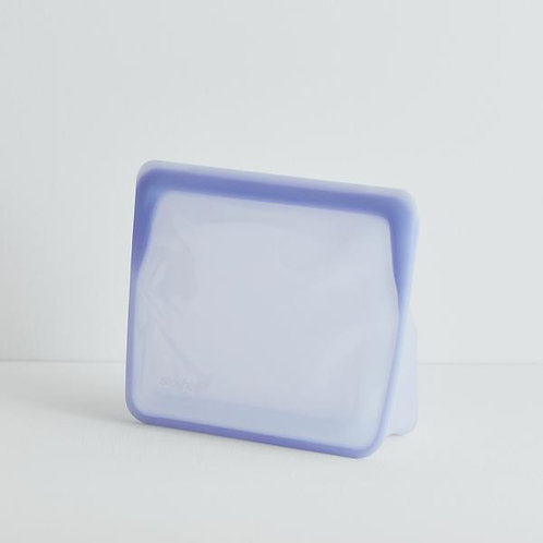 stasher - Stand Up MID Bag in LAVENDER