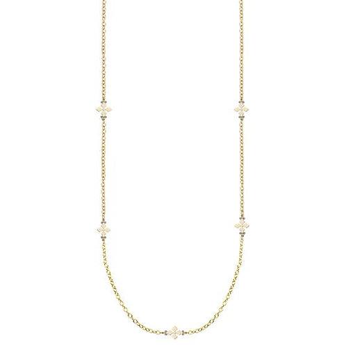 Natalie Wood Designs - Believer Cross Station Necklace