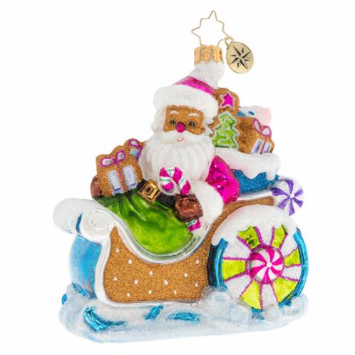 Radko Confectionary Clause Ornament