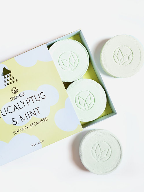 musee - Eucalyptus & Mint Shower Steamers