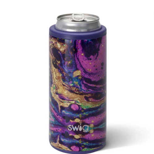 SWiG PURPLE REIGN SKINNY CAN COOLER (12OZ)