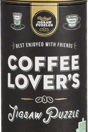 Ridley's Coffee Lover's 500 Piece Jigsaw Puzzle