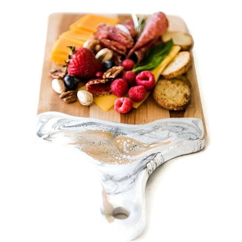 Lynn Liana Cheese Board WHITE