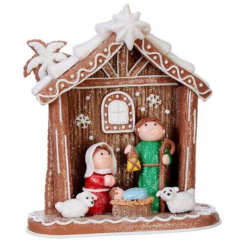 """Raz Imports Kringle Candy Co. 6.75"""" Nativity"""