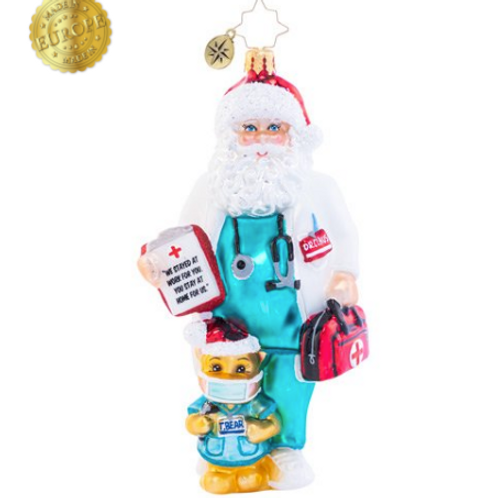 Radko Dr. Claus Cares Ornament