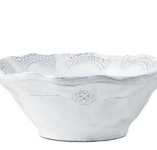 Vietri Incanto Lace Cereal Bowl