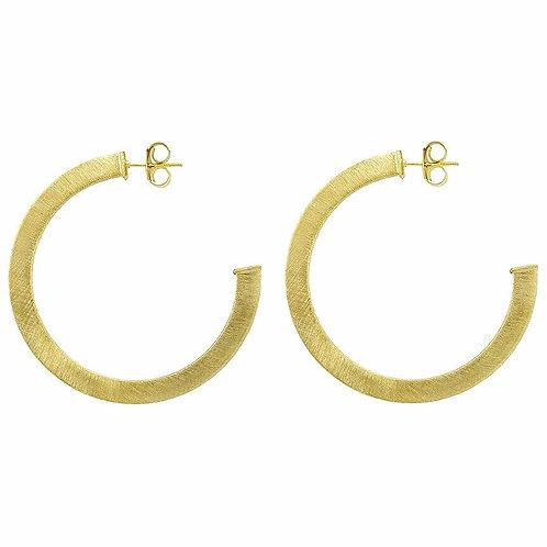 Sheila Fajl Elisa Hoop Earring in GOLD