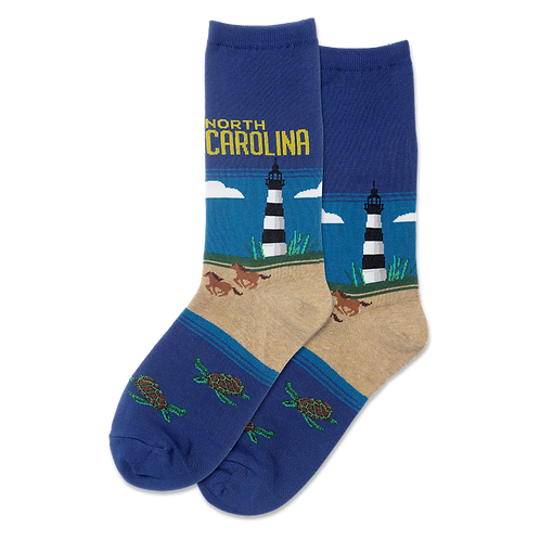 HOTSOX NORTH CAROLINA CREW SOCKS