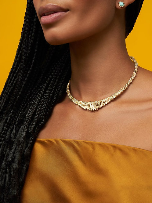 Kendra Scott Rylan Collar Necklace In Gold
