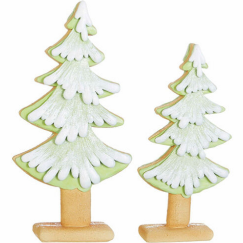 RAZ  Gingerbread Cookie Green Candy Sweet Christmas Tree