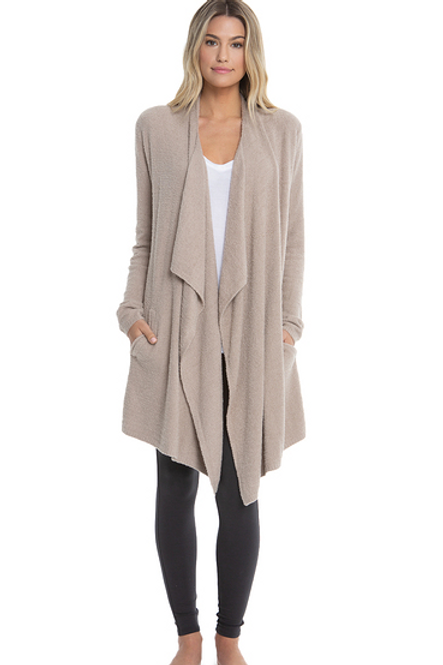 Barefoot Dreams Cozy Chic Island Wrap in Taupe