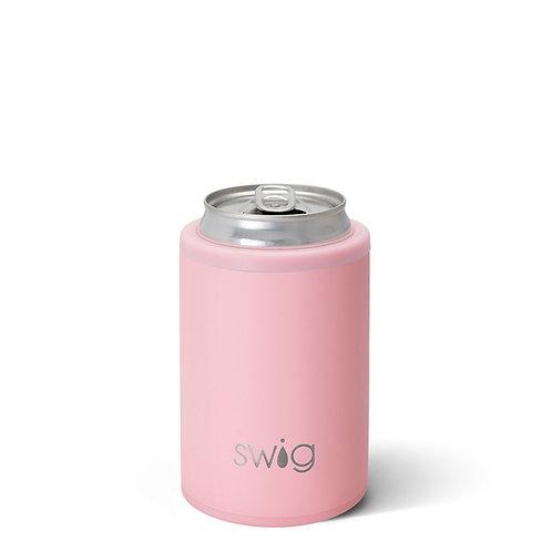 SWiG Matte Blush Combo Can+Bottle Cooler (12oz Cans & Bottles)