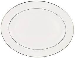 Lenox Continental Platinum Oval Platter