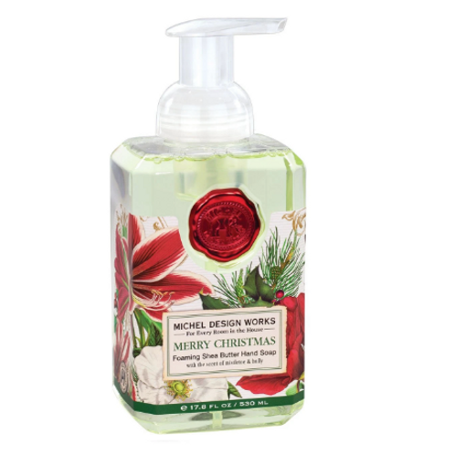 MICHAEL DESIGNS Merry Christmas Foaming Hand Soap