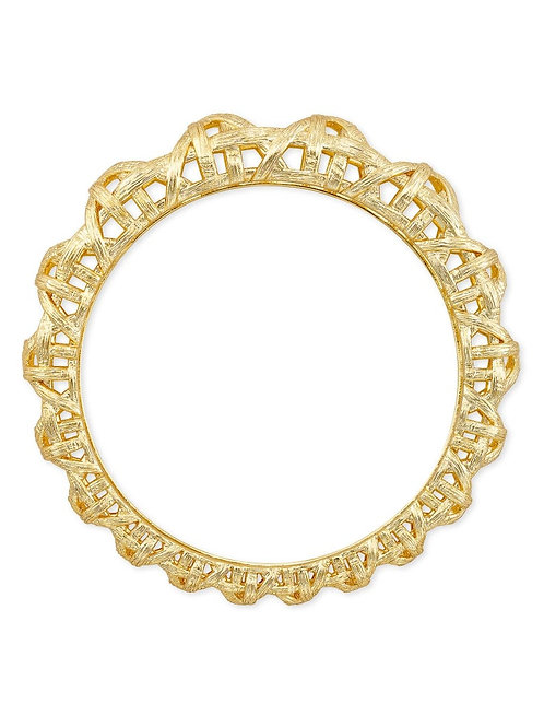 Kendra Scott Natalie Bangle Bracelet In Gold